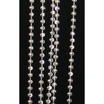 "LA N-257 18""  2mm Moon Cut Bead"