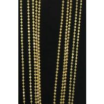 "LA N-256 18""  3mm Moon Cut Bead"