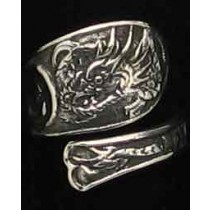 """SPR-2360  Chinese Export Silver """"Dragon"""""""