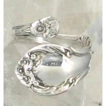 "SPR-4501  International Silver Co. ""Wild Rose"""