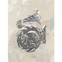 """SPR-2503  Mechanics Sterling Co. """"Birth Month Series February Pisces"""""""